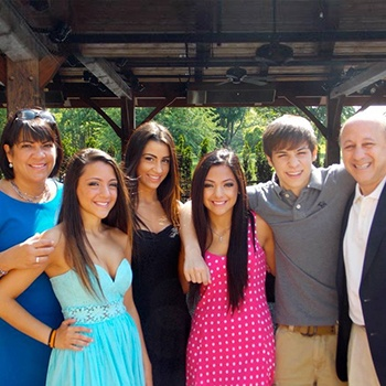 Dr. DeMartino and his family