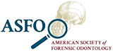 American Society of Forensic Odontology logo