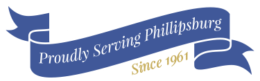 Proudly Serving Phillipsburg since 1961 logo