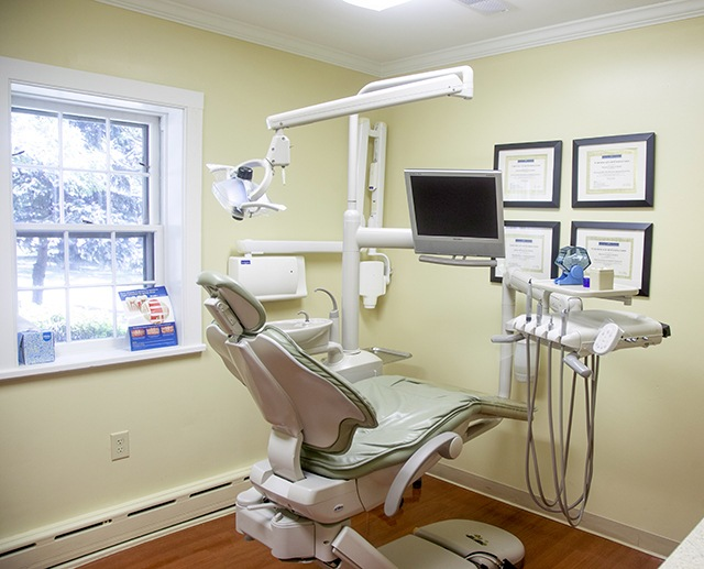 Dental exam room