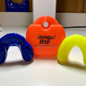 Bengal bite case and mouthguards